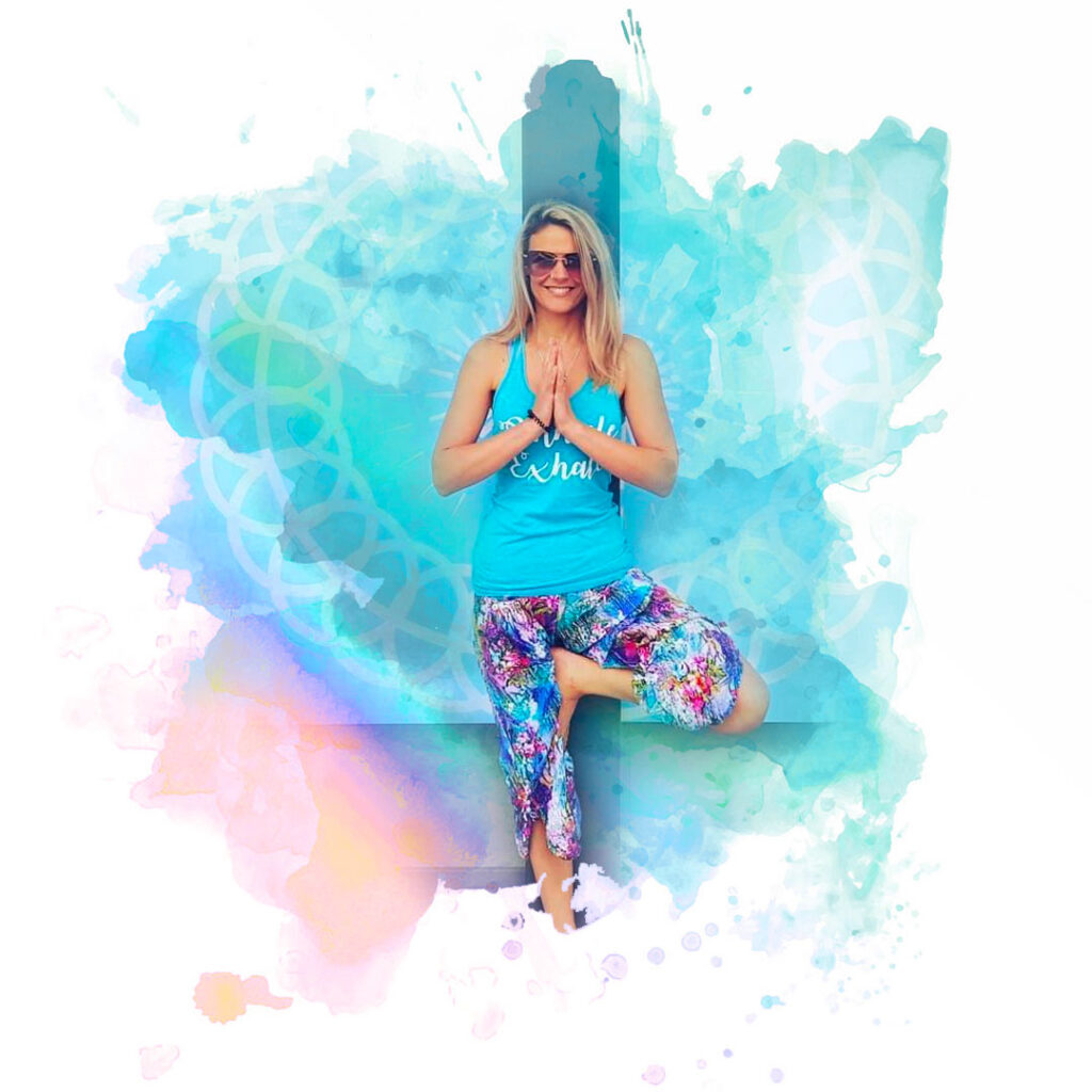 Image of Suz Phillis welcoming you to Beachside Yoga and Pilates