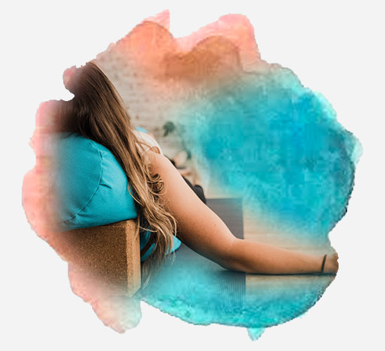 Image of restorative yoga