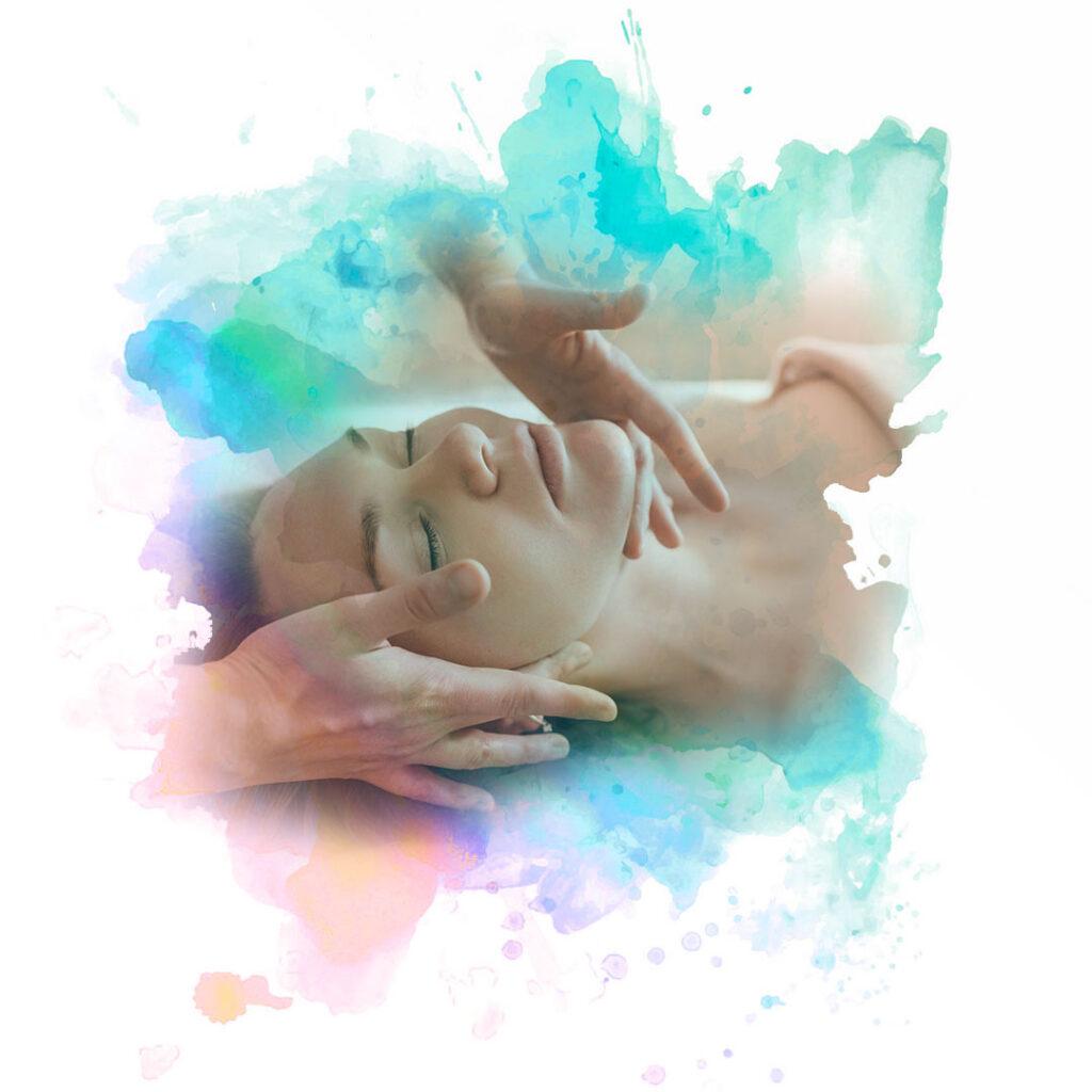 Image of woman having a massage